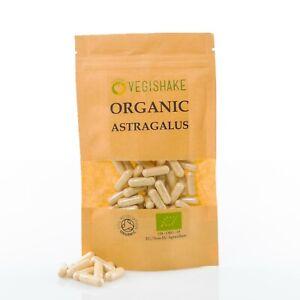 Organic Astragalus HPMC Capsule Digestion Health Night Sweats Diarrhea Vegan