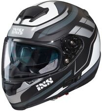 iXS Motorradhelm HX 215 2.0 Schwarz-grau-weiß Gr. XS