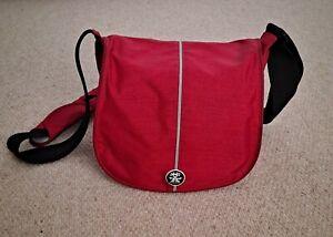 Crumpler Pretty Boy 5500 XXL Camera Bag - Blood Red and Silver