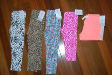NWT Girls 2T CARTER'S Lot of 5 Bottoms Leggings & Capris & Shorts