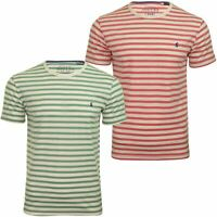 Joules Mens Crew Neck Stripe T-Shirt 'Boathouse Tee' - Short Sleeved