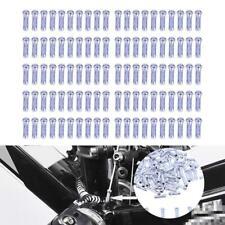 100pc Endkappen Schaltzug Außenhülle 3mm Ø Schaltzughülle Endhülsen Bremszug HOT