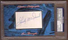 2013 Historic Autographs Five Boroughs Lindy McDaniel Cut Autographed Card, 8/20