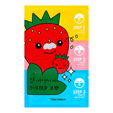 [TONYMOLY] Strawberry Seed 3-step Nose Pack 6g