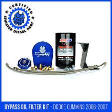 Sinister Diesel External Oil Filter System for Dodge Cummins 2006-2007 5.9L