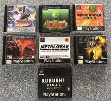PS1 Games Bundle - 6 Games & Demos