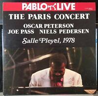 Oscar Peterson, Joe Pass, Niels Pedersen - Paris Concert - Japan gf double LP