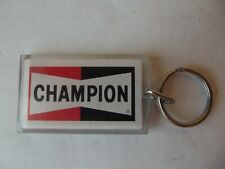 Vintage Champion Key Chain Spark Plug Advertising Car Truck Collectible