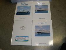 Majesty cruise line Holland American Line books MAASDAM V MS Statendam  (T)