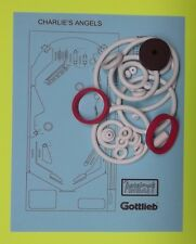 1978 Gottlieb Charlie's Angels pinball rubber ring kit
