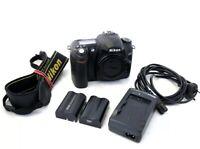 Nikon D50 DSLR Camera Body - with Nikon Batterys X 2, Charger & Strap 25k Shots