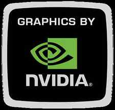 Graphics by Nvidia Sticker 18 x 17.5mm Case Badge Logo Label - Genuine Orig