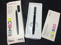 Wacom Bamboo Duo Essential Stylus + Pen - Black CS191K Black 4th Generation, New