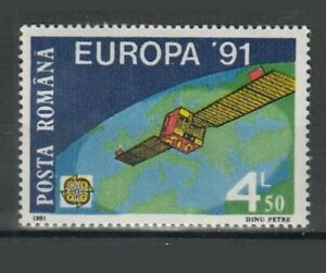 Timbres Europe Europa CEPT Roumanie espace ** 1991 Y&T 3932
