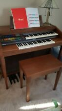 Lowrey Mardi Gras Musical Organ Excellent With Stand �🧡💛💚💙