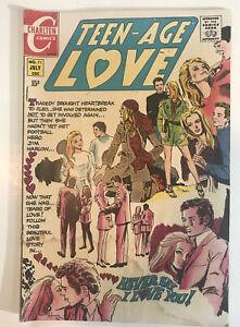 Teen-Age Love 71  1970 Charlton Comics VG Condition Beautiful!!