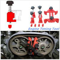 5PCS Dual Cam Camshaft Lock Holder  Master Camclamp Kit Engine Timing  Tool Set