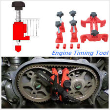 5PCS Dual Cam Camshaft Lock Holder  Master Camclamp Kit Engine Timing  Tool Set