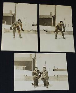 1944-1945 J.E. FERLAND IRONWORKS THETFORD MINES, QC, CANADA PHOTOS (3) -ORIGINAL
