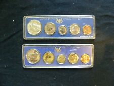 (2) SPECIAL MINT UNCIRCULATED COIN SETS - 1966,1967