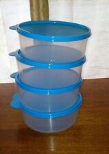 Tupperware Big Wonders Large Bowl,Set of 4, 3 Cup Bowls w/Liquid Tight Seals