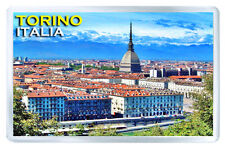 TORINO ITALIA FRIDGE MAGNET SOUVENIR IMAN NEVERA