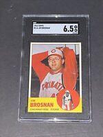 1963 Topps #116 Jim Brosman SGC 6.5 Newly Graded & Labelled
