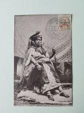 Morocco, picturecard 47 Femme de la haute société, no.1, cancelled Casablanca