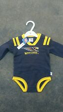 AFL WEST COAST EAGLES WCE BABY JUMPSUIT  SIZE 0 Jersey, football