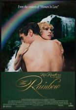 THE RAINBOW - 27x41 Original Movie Poster One Sheet ROLLED Ken Russell Foil 1989