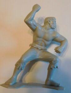 Incredible Hulk 1967 rare Gray Marx Figure! Great Shape! First set of Marx