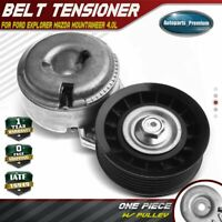 A-Premium Belt Tensioner Assembly Compatible with Ford Ranger Explorer 1993-2000 Aerostar 1996-1997 Mercury Mountaineer 1998-1999 V6 4.0L