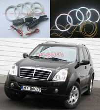 4pcs Excellent CCFL Halo Ring Angel Eyes kit For Ssangyong Rexton 2006- 2012