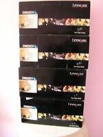 LexMark C920 Cyan Toner Cartridge C9202CH