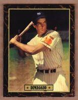 Joe DiMaggio '37 New York Yankees Ultimate Baseball Card Collection #38