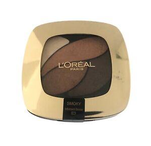 L'Oreal Color Riche Quad Eyeshadow Palette Smoky Luminous Shocking