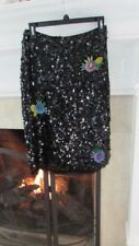 Cynthia Rowley Risky Business Sequin Pencil Skirt Sz 4 Retail $395.00