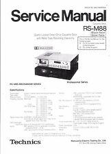 Technics Service manual für RS-M 88