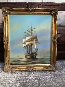 Ambrose Ship Painting
