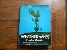 WEATHER VANES,1973,Charles Klamkin,1st Edition