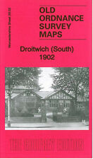 OLD ORDNANCE SURVEY MAP DROITWICH SOUTH 1902