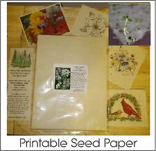 8.5X11 Embedded Seed Printable Computer Paper (25) Pk.