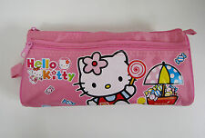 New Hello Kitty Pencil Pouch Stationery Pink Cosmetic Make Up Bag Case,US SELLER