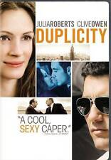 Duplicity Julia Roberts & Clive Owen, Clever Fun & Entertaining Movie (DVD 2009)