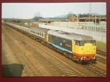 POSTCARD C2-8 CLASS 31/4 LOCO NO 31413 'SEVERN VALLEY' AT BURTON ON TRENT MAY 19