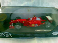 HOT WHEELS 1/18 - F1 FERRARI F 2001 BARRICHELLO - SERIE RACING