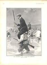 1905 Naval Manoeuvres à Brest M Witte ministre JJ Henner