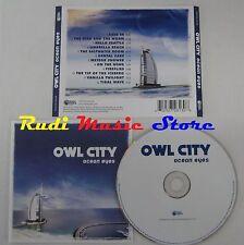 CD OWL CITY Ocean eyes 2009 UNIVERSAL REPUBLIC EU00602527281308 NO mc dvd (CS5)