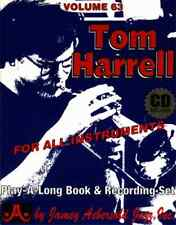 JAMEY AEBERSOLD-TOM HARRELL: JAZZ PLAY-A-LONG VOL. 63 MUSIC BOOK/CD BRAND NEW!!