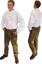 37-38 Herren-Trachtenhemden mit Stehkragen